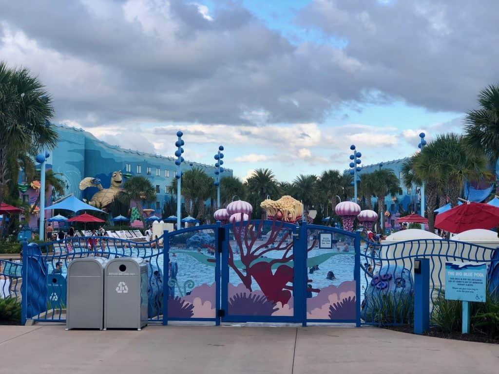 Disney Art of Animation pool