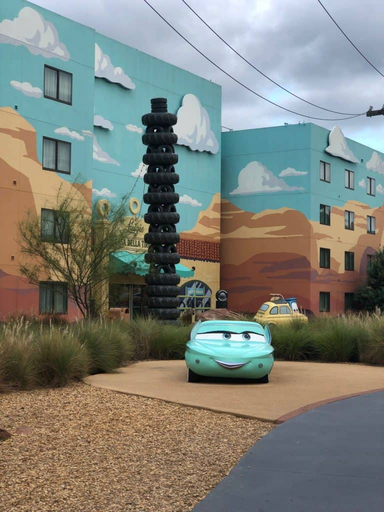 Art of Animation cars theming