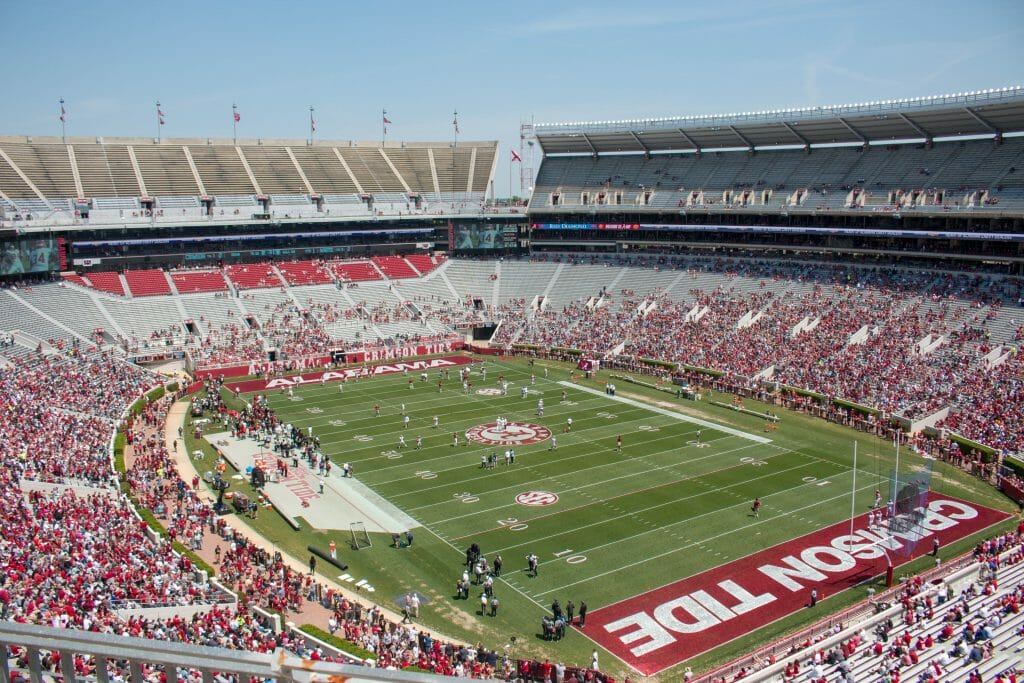 Bryant-Denney Stadium Tuscaloosa