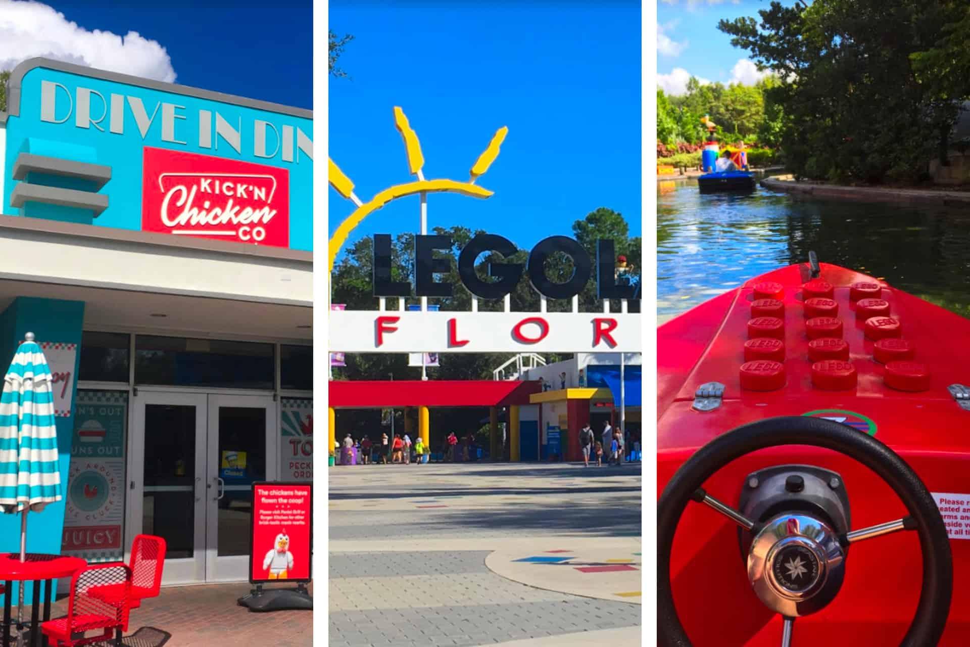 Images from Legoland Florida