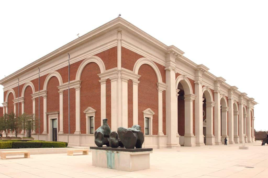 Exteriror of the Meadows Museum Dallas Fort Worth