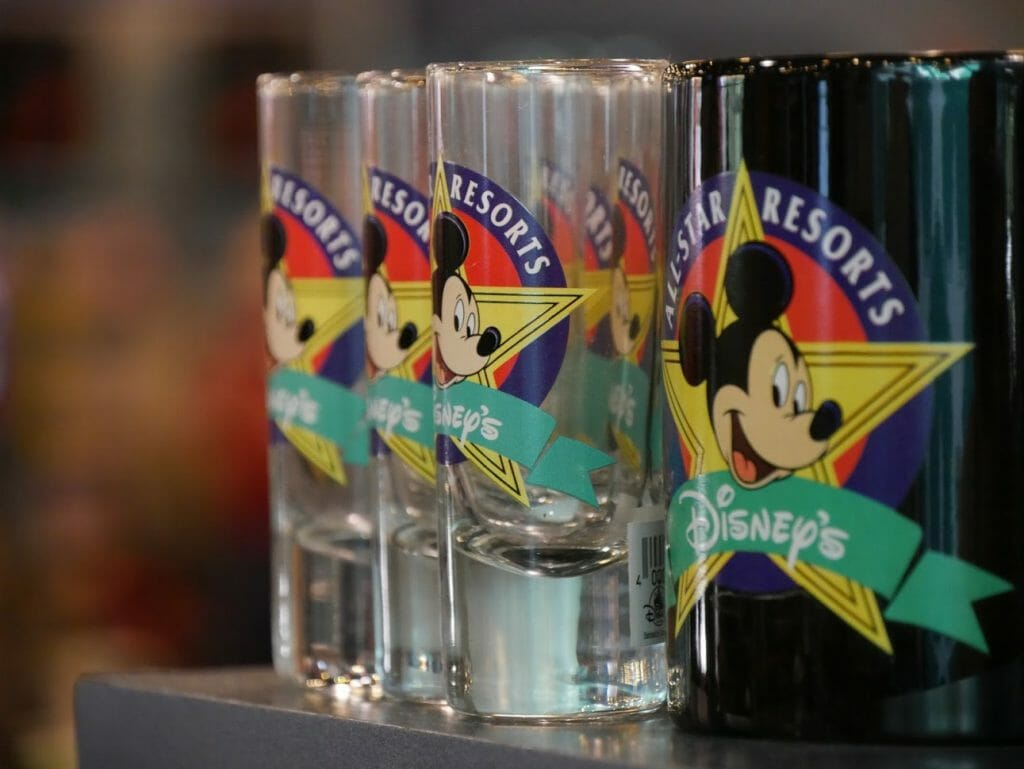 All Star Movies shot glasses