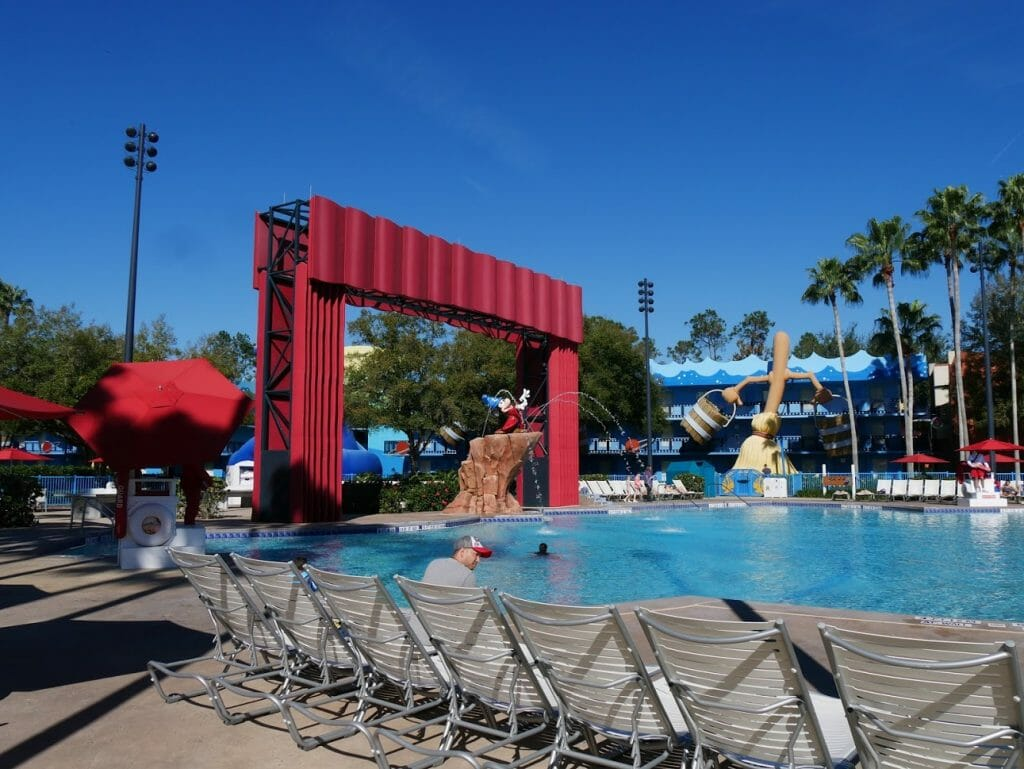 Disney All-Star Movies pool review Fantasia pool