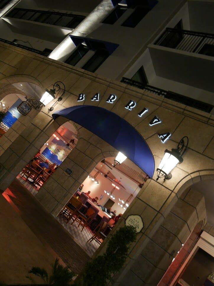 Entrance to Bar Riva at Riviera Resort Disney