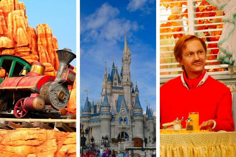 Rides at Magic Kingdom for Adults Disney World