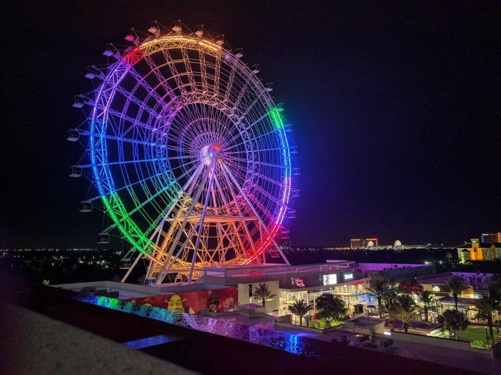 Orlando-wheel
