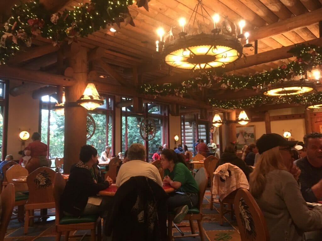 whispering canyon cafe interior