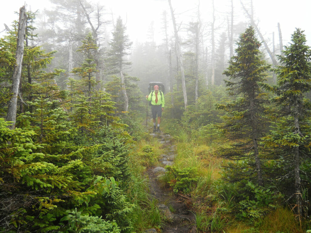 Appalachian Trail in Maine