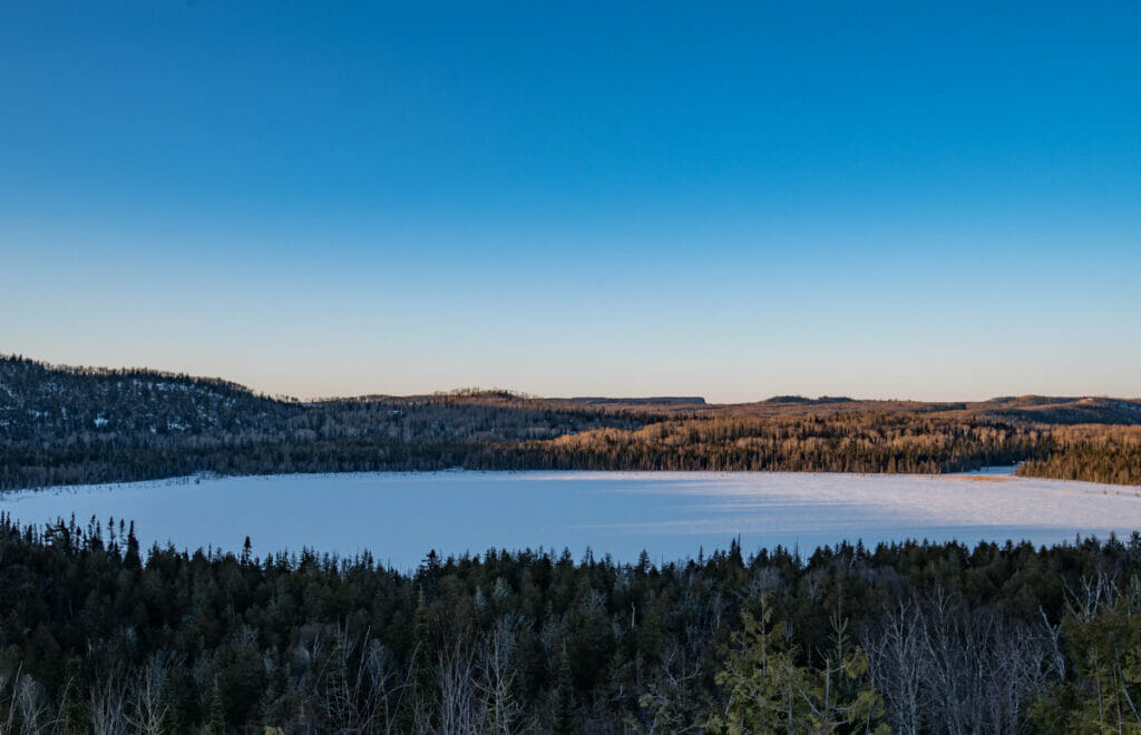 Teal Lake in Minnesota