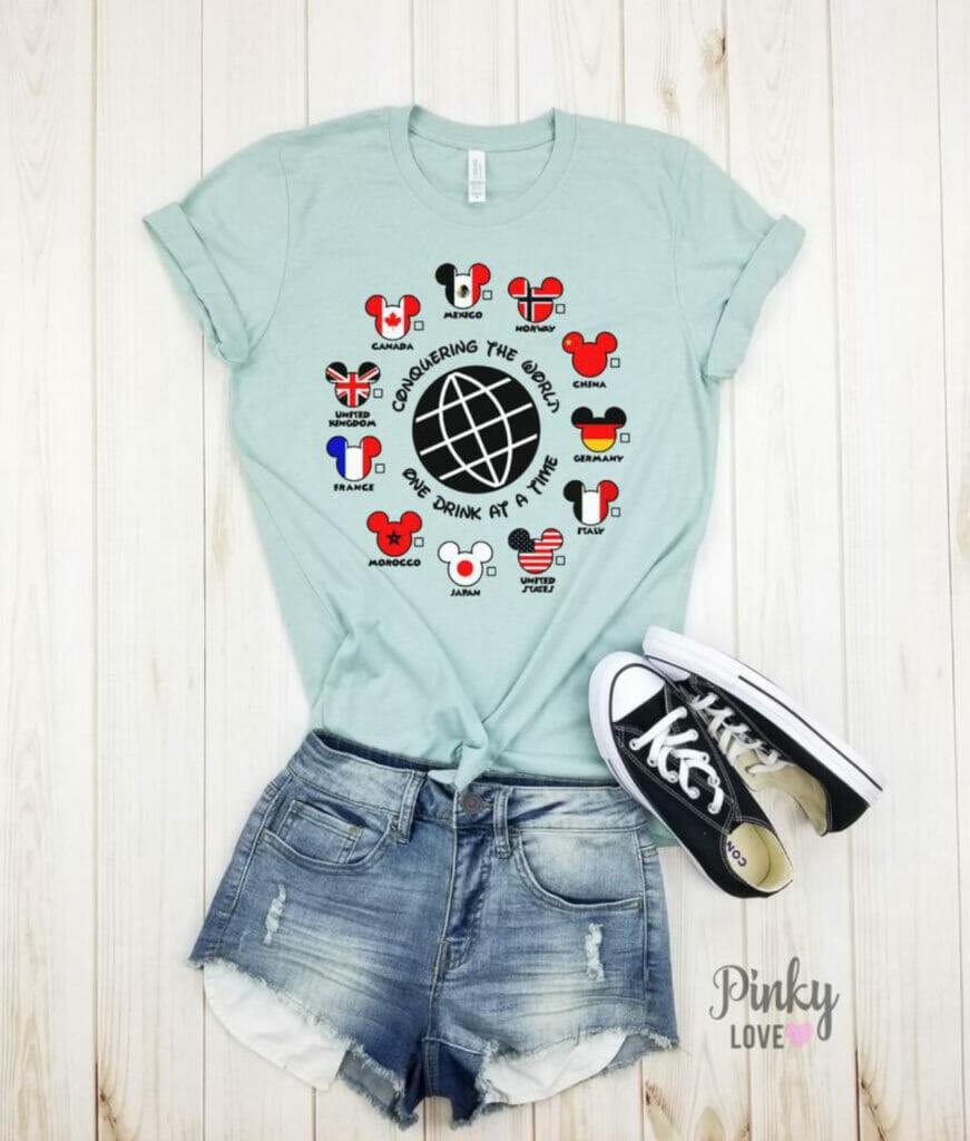 epcot shirt