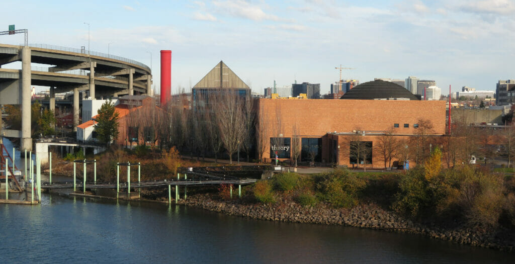 oregon museum of science and industry exterior